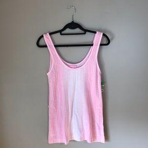 Lily Pulitzer NWOT Pink Striped Knit Tank